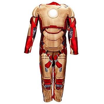 Disney Store Traje 7 - 8 años Iron Man Carnaval Niño Armadura ...