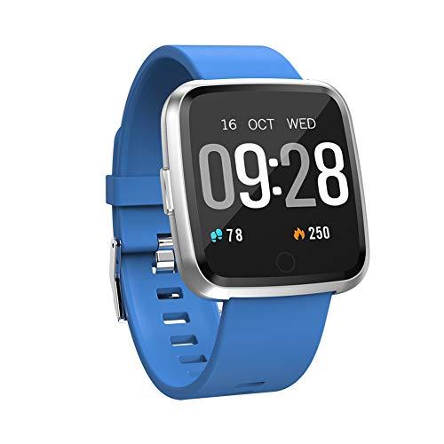 Y7 Long Standby Time Smart Watch, Blood Pressure Oxygen Smart Watch, Waterproof BT4.0 Heart Rate Watch for Men Women