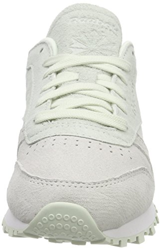 Classic Sneakers White Femme Basses NBK Leather Opal Reebok Blanc da4wqtdx