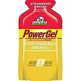 PowerBar PowerGel, Strawberry Banana, 1x Caffeine, 1.44-Ounce Packets (Pack of 24)