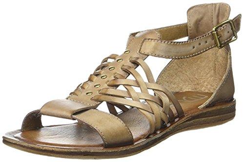 Mjus Damen Frozen Sandale, Braun, 40 EU
