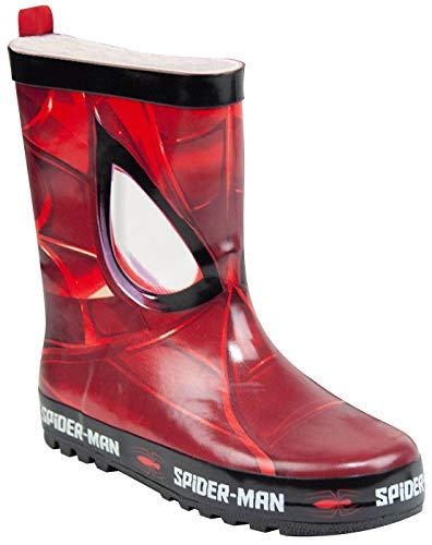 Spiderman Sublimation Boy's Wellie (EU 31-32) Red