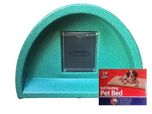 Cosy Cages £ 48.95–Niche Abri pour chat/extérieur Vert² + Polaire Cosy Cages Ltd S3