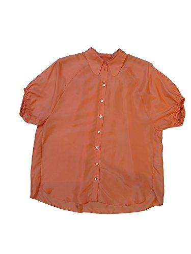 Dolce & Gabbana Pink Short Sleeve Blouse 36 2