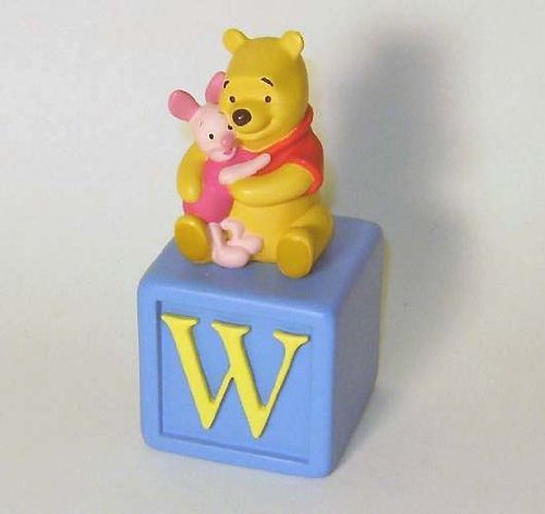 (Disney Alphabet Fun Blocks Winnie the Pooh and Piglet Collectible Figurine)