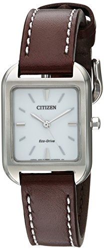 Citizen Women's Eco-Drive Stainless Steel Watch,  EM0490-08A