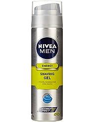 NIVEA Men Q10 Energy Shaving Gel, 7-Ounce Bottle