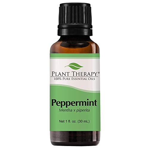 (Peppermint Essential Oil. 30 ml (1 fl oz). 100% Pure, Undiluted, Therapeutic Grade)