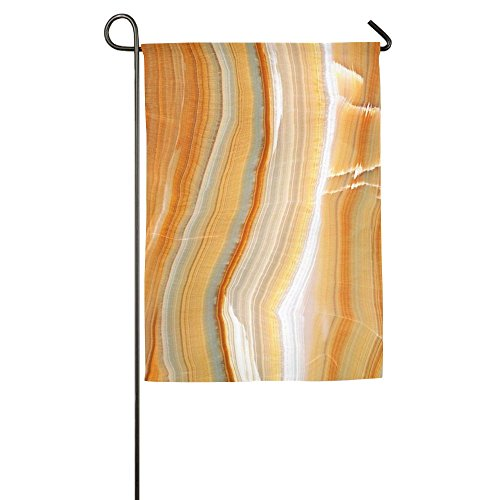 Marble Stone Pattern Summer Beach Bright Spring Patio Garden Flags All-Weather Polyester (Slabs Patio Textured)