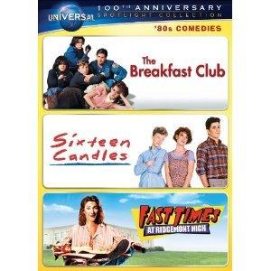 Breakfast Club/ Sixteen Candles/ Fast Times at Ridgemont High (English & Spanish Languages)