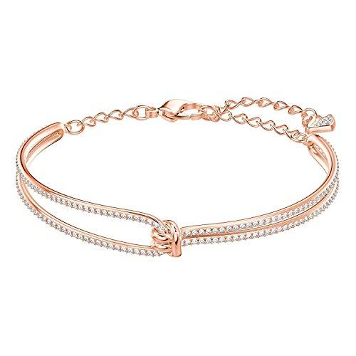 Glenn Sanderson Beauty Bracelet Swarovski Crystal Lifelong Rose Gold-Plated Bracelet