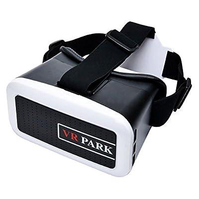 VR PARK V2 Virtual Reality Headset 3D Glasses - White + Black