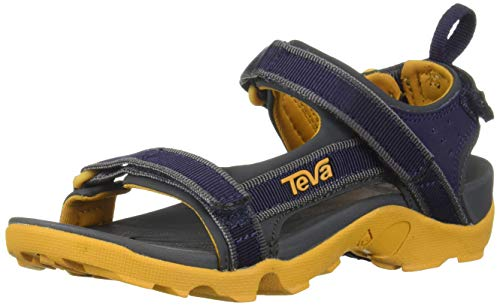 Teva Kids' K Tanza Sport Sandal, eclipse, 4 Medium US Big - Boys Teva Sandals