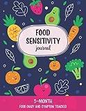 Food Sensitivity Journal: Cute 3-Month Food Diary