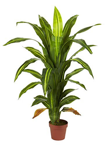 - Artificial Plant -4 Foot Dracaena Silk Plant