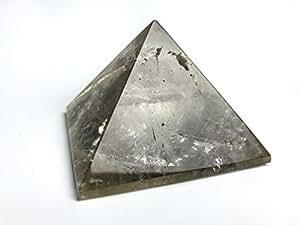 Astro Gallery Of Gems Smoky Quartz Gemstone Pyramid - 300. 8 Grams