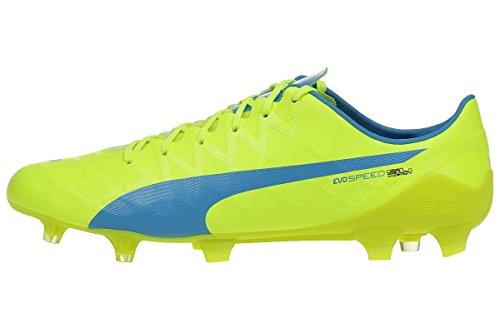Puma Evospeed Sl-s Fg - Botas de fútbol Hombre safety yellow-atomic blue-white 04