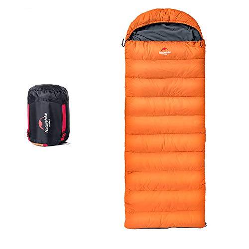 Boman Down Sleeping Bag 23°F 800 Fill Power 3 Season Envelope Indoor Outdoor Lightweight Portable Waterproof Perfect Traveling Camping Hiking Activities ()