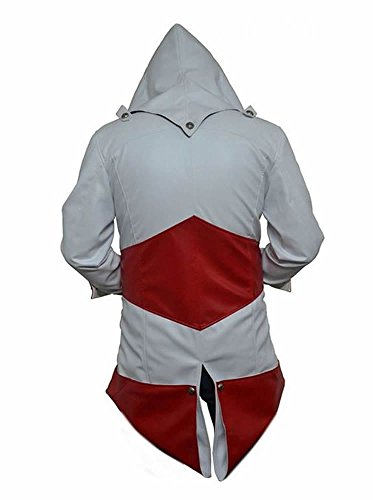 Assassins Red Pour Veste And Classyak White Creed Sheep Homme vdqxx81