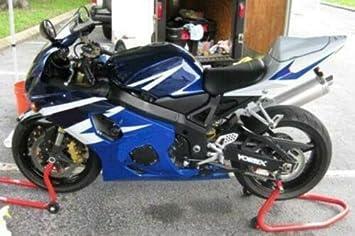 Plastic Blue Bodywork Fairing Fit for Suzuki 2004 2005 GSXR 600 750 Injection Mold ABS New Aftermarket Bodyframe Kit Set 04 05 GSXR-600 750