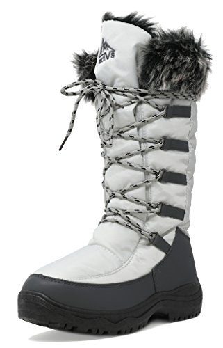 arctiv8 Women's Faux Fur Lining Winter Snow Boots