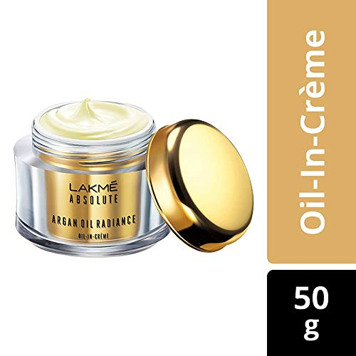 - Lakme Absolute Argan Oil Radiance Oil-in-Creme, 50g