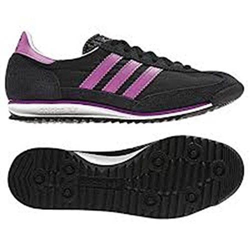 ADIDAS SL 72 W art.V25025 Black1/UltPur/RunWht mis. UK 5.0 Eur 38
