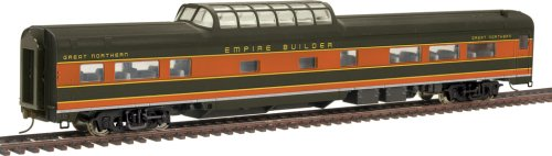 Walthers HO Scale Great Northern Empire Builder Budd 48-Seat Vista Dome Coach No.1320-1335