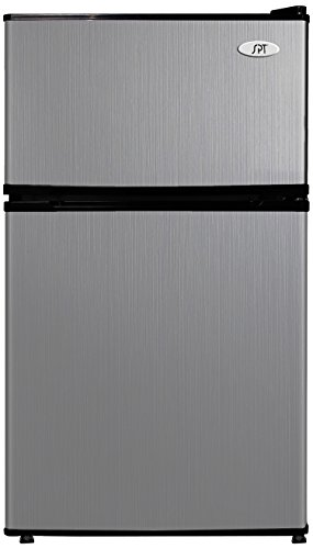 SPT RF-314SS Double Door Refrigerator, Stainless Steel, 3.1 Cubic Feet ()