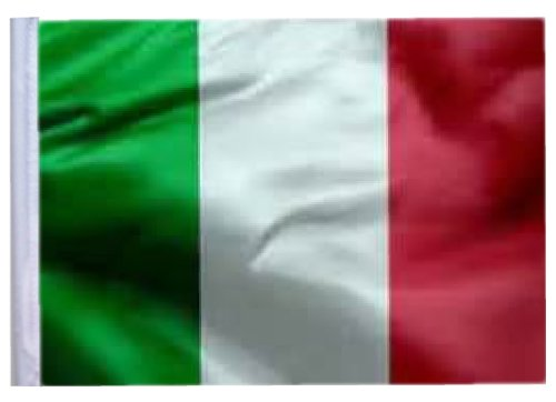 ITALY Replacement Flag 11in.x15 in. - NO POLE INCLUDED by SSP Flags Inc
