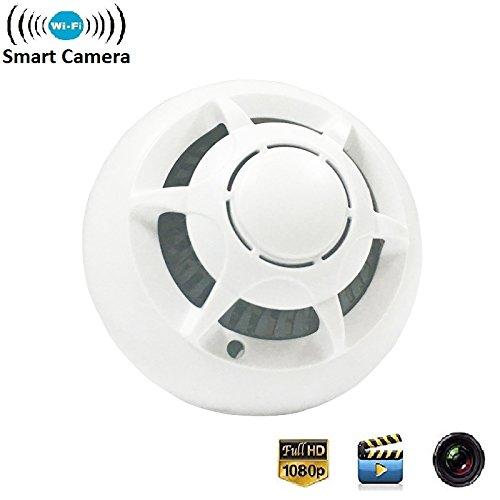 wireless hidden camera video nanny camera smoke detector wifi hd1080p ebay. Black Bedroom Furniture Sets. Home Design Ideas