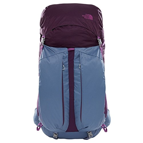 North Face Banchee 50 Womens Hiking Backpack X Small/Small Blackberry Wine Folkestone Grey