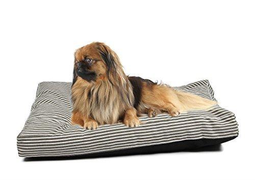 4 Pets DIY Dog Cushion Cover Pet Mat Case Do It Yourself Stripe Color Canvas L by 4pets by 4pets