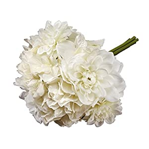 Victoria Lynn Mixed Dahlia Hydrangea Bouquet - 10 inches 77