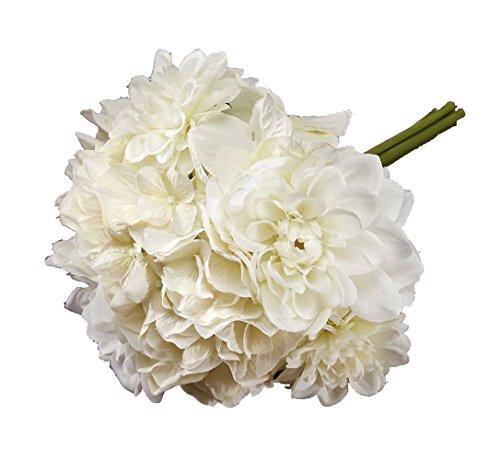 Darice VL13040x6 Victoria Lynn Mixed Dahlia Hydrangea Bouquet, 6