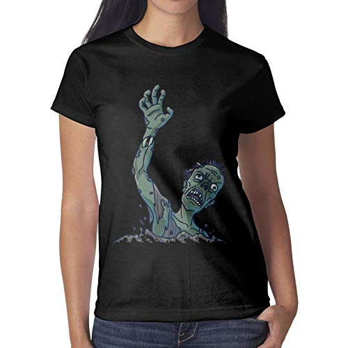 Melinda Rob Zombie Halloween Women tee Shirt Halloween Costumes for Women]()
