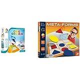 Pack Smart Games - SG 090 FR Tangram en 3D Code Couleur et Asmodee - FOXMFLB - Meta-Formes