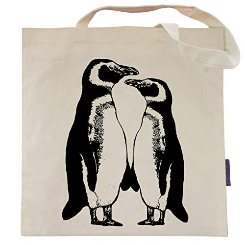 Penguin Tote Bag - by Pet Studio Art