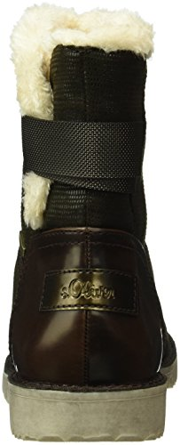 s.Oliver Women's 26443 Ankle Boots Brown (Mocca Comb 312) XIP2Wp