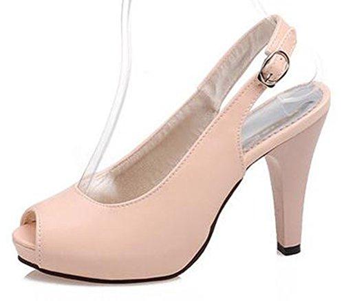 Easemax Women's Sexy High Stiletto Heels Peep Toe Slingback Sandals Shoes 41F2hRvVPsL home Home 41F2hRvVPsL