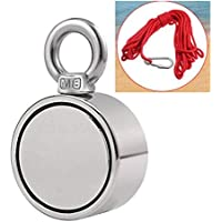 ouying1418 200/300/500Kg Double Single Side Neodymium Metal Magnet