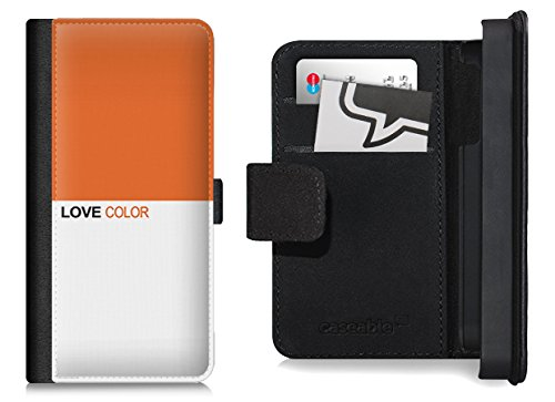 Design Flip Case für das iPhone 6 Plus - ''LoveOrange'' von caseable colors