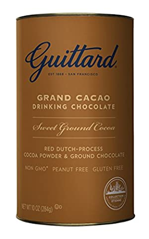 Guittard Chocolate Grand Cacao Drinking Chocolate, 10 oz - Hot Chocolate With Cocoa Powder