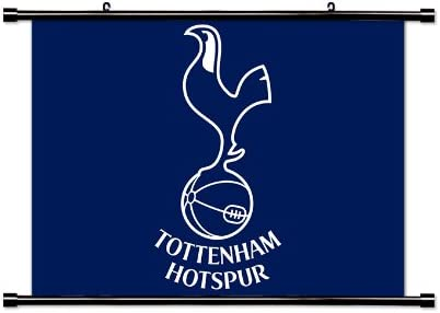 Tottenham Hotspur Football Club English Premier League Fabric Wall Scroll Poster 32 X 24 Inches Amazon Co Uk Kitchen Home