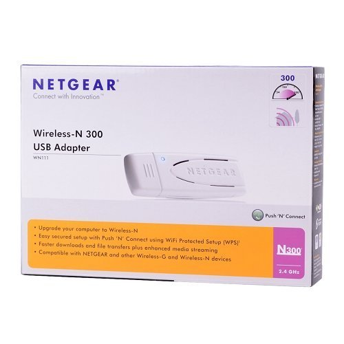 - Netgear WN111 Wireless-N 300  USB Adapter
