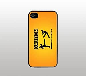 "Funny Quote Hard Snap-On Case for iPhone 5 - Black - Cool Custom Cover - ""Whatever doesn't kill you simply makes you stranger."""