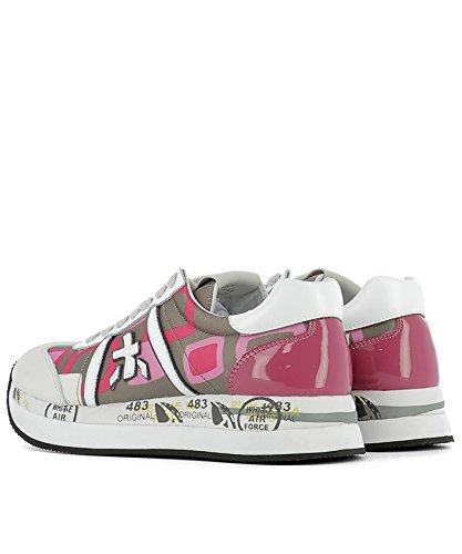 Premiata Damen CONNY1949 Multicolour Leder Sneakers