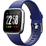 H4 Fitness Health 2in1 Smart Watch for Men Women Smartwatch with All-Day Heart Rate Monitor...