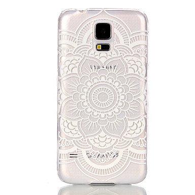 Hollow Flower Pattern Ultrathin Hard Back Cover Case for Samsung Galaxy S6 edge S6 S5 S5Mini S4 Mini S3Mini ( Color : White , Compatible Models : Galaxy S3 Mini )