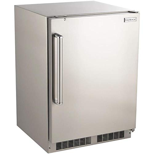 Fire Magic 24-inch 5.1 Cu. Ft. Right Hinge Outdoor Rated Compact Refrigerator - 3589-dr (Refrigerator Fire Magic)